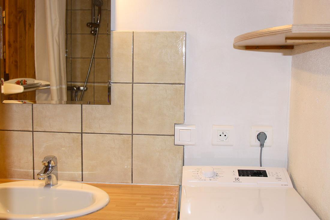Chalet le Freydame Nurit salle de bain