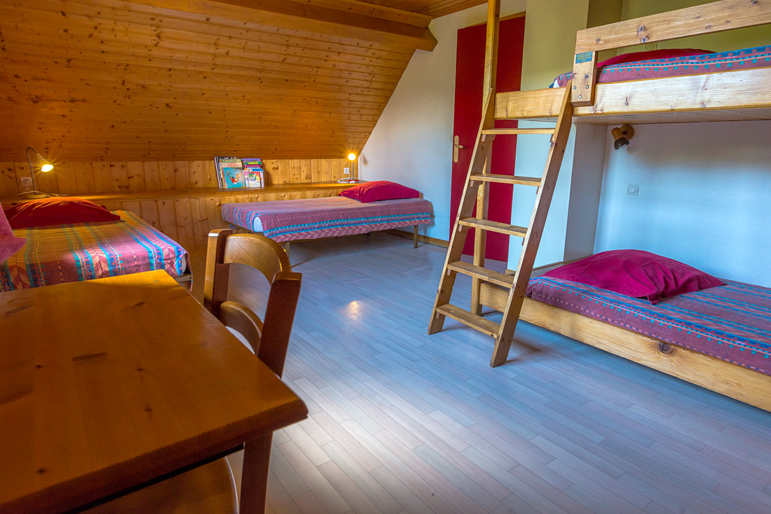 Chalet le Dauphinois Nurit chambre