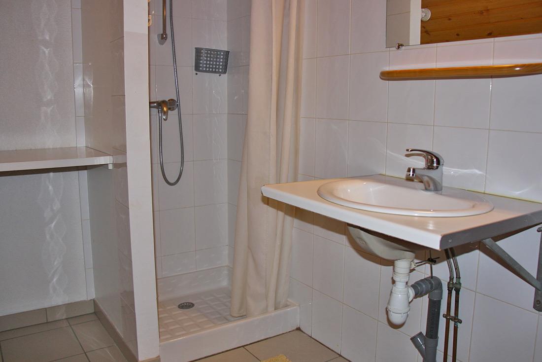 Chalet le Montagnard Nurit salle de bain