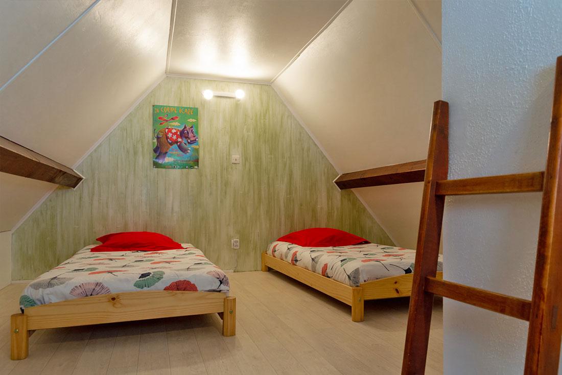 Chalet Doménon Nurit chambre