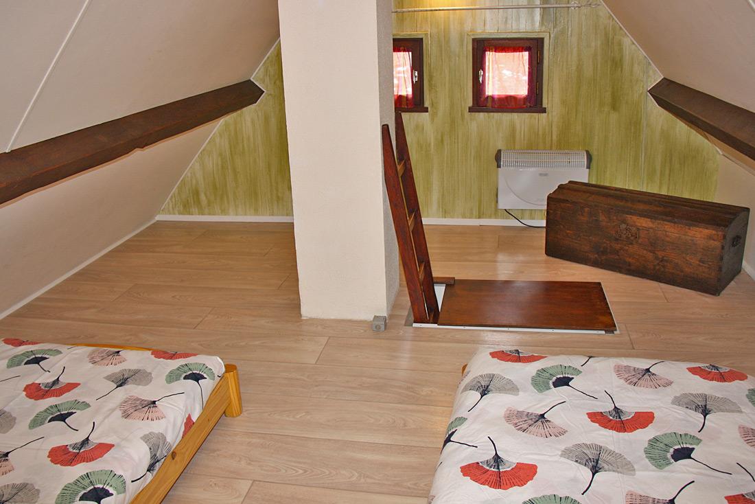 Chalet le Pra Nurit chambre