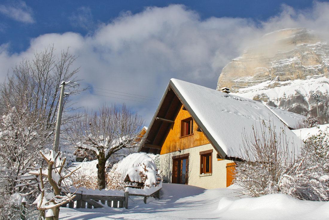 Chalet Chartrousin Nurit en hiver