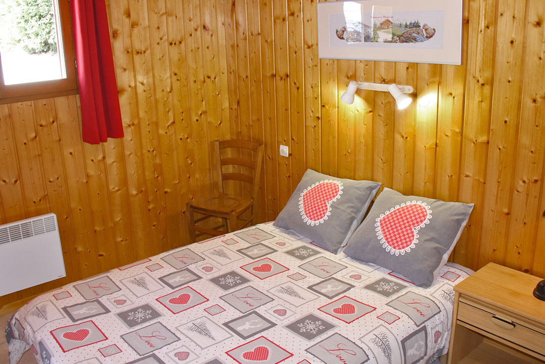 Chalet Chartrousin Nurit chambre
